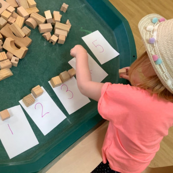 Playing with Numbers and Blocks