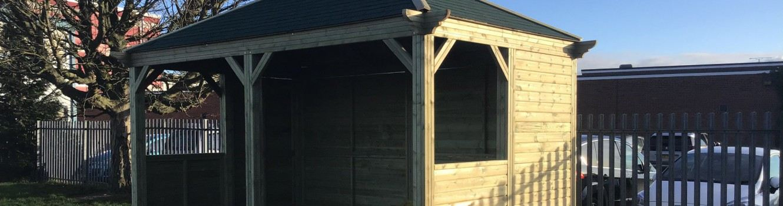 The new hut